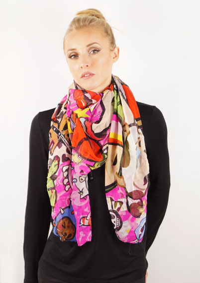 Afterparty Silk Scarf