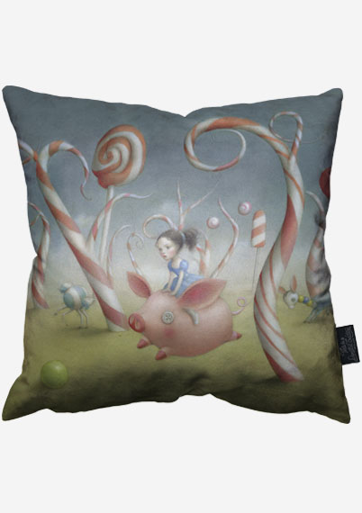 Candy Forest Pillow