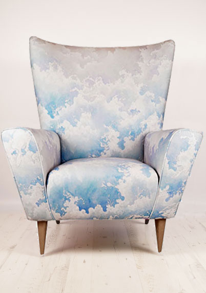 Tossed Wing Chair